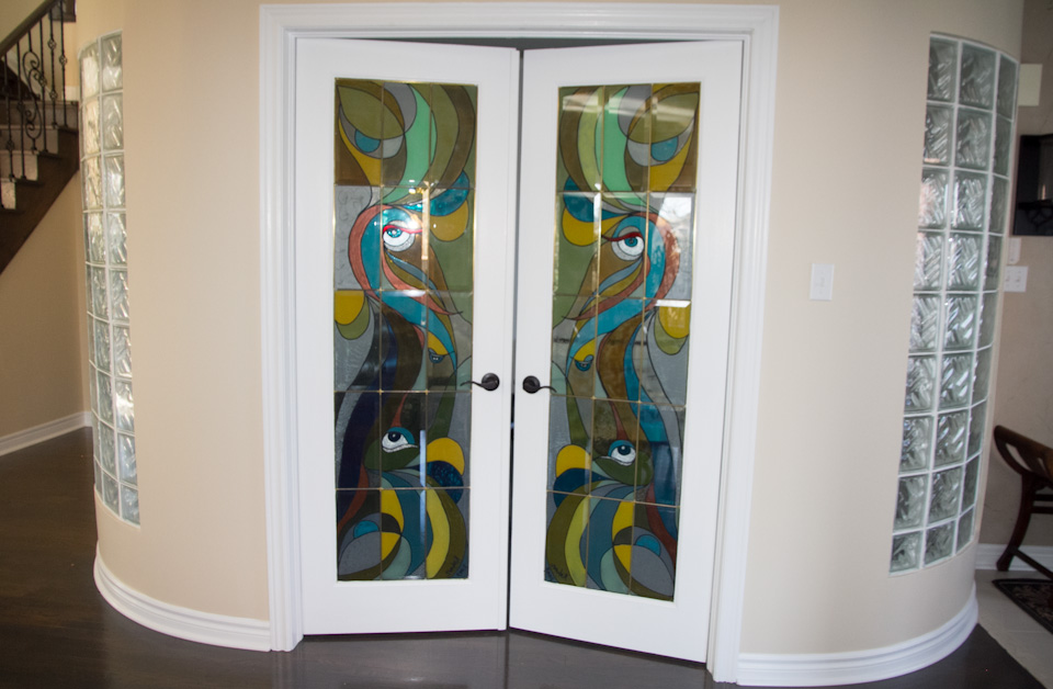 Interior Door Levers In Richmond Hill House Toronto