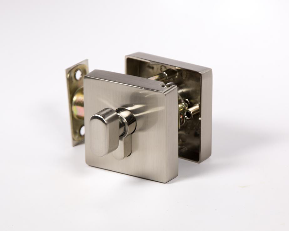 Square Deadbolt Satin Nickel Toronto Door Hardware