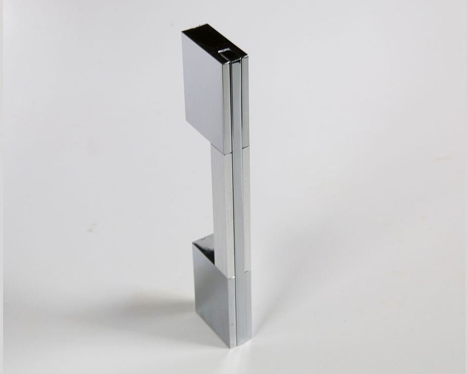 Modern Residential Single Cylinder Square Deadbolt