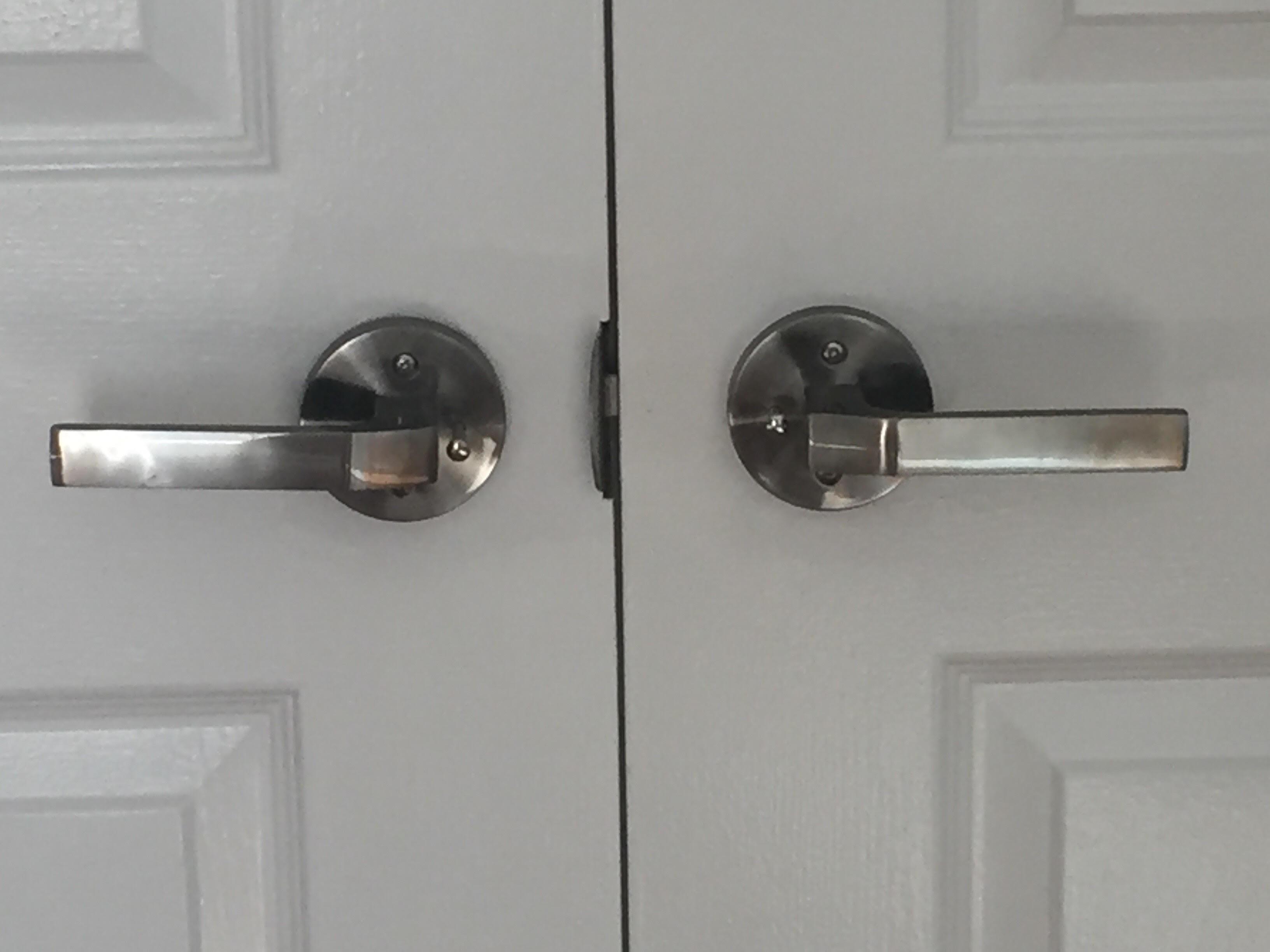 Polar interior door handle lever set round rose push - Contemporary interior door levers ...