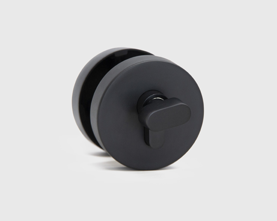 deadbolt black round